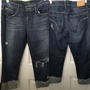 Joe's Jeans Best Friend Cropped  Denim Jeans